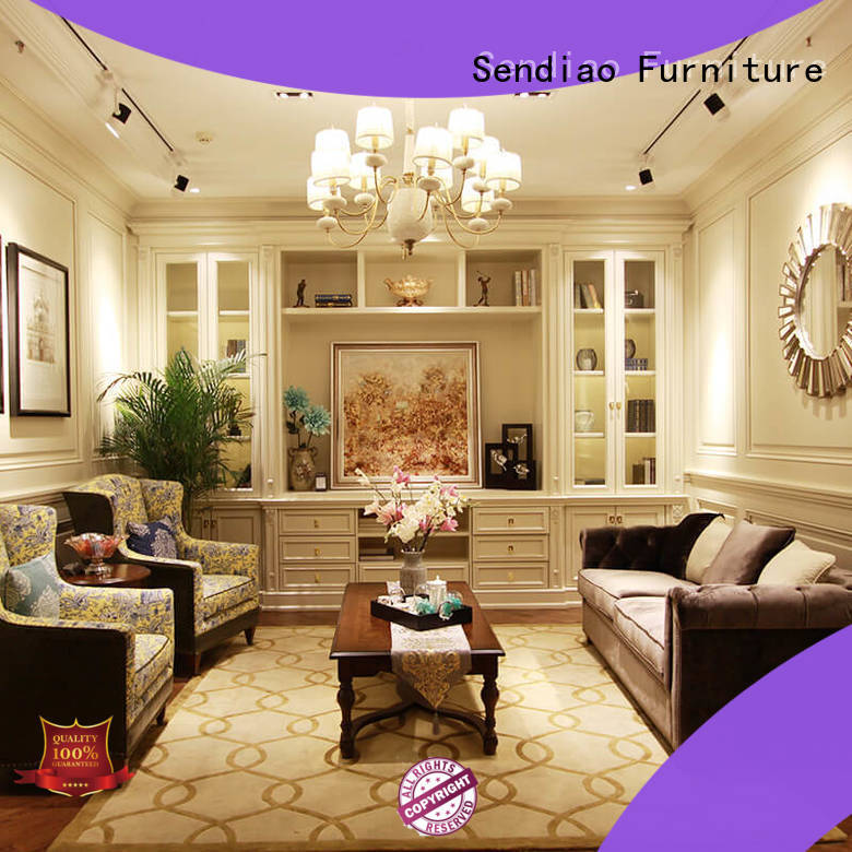 living tall decorative storage cabinets cabinet Four Star Hotel Sendiao Furniture