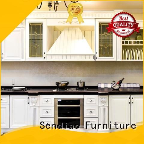 elegance custom kitchen cabinets American style Four Star Hotel