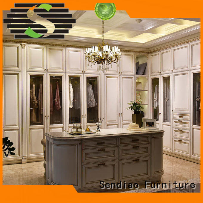 sdw05 wooden cabinet for clothes syle Chateau Sendiao Furniture