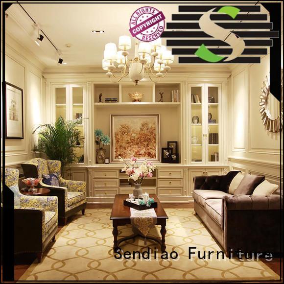 wood decorative cabinet Simplicity A living room Sendiao Furniture