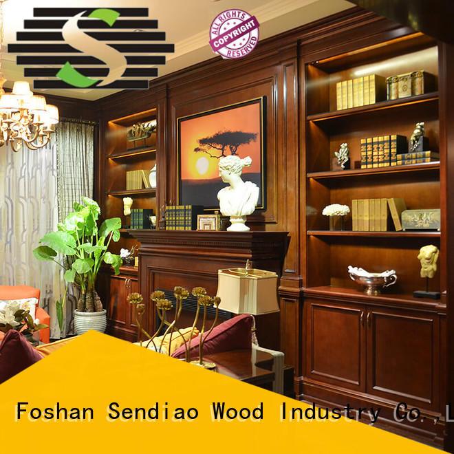 Sendiao Furniture classical decorative storage cabinets supply bedroom