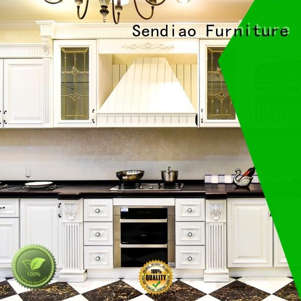 Sendiao Furniture cabinets solid wood kitchen cupboards manufacturers bedroom