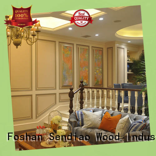Sendiao Furniture solid wooden staircases supply fivestar hotel