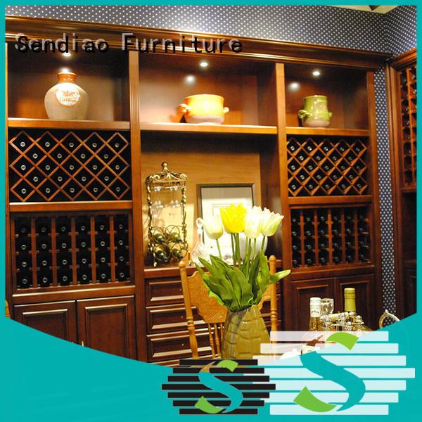 Sendiao Furniture elegance wood wine cabinet factory study