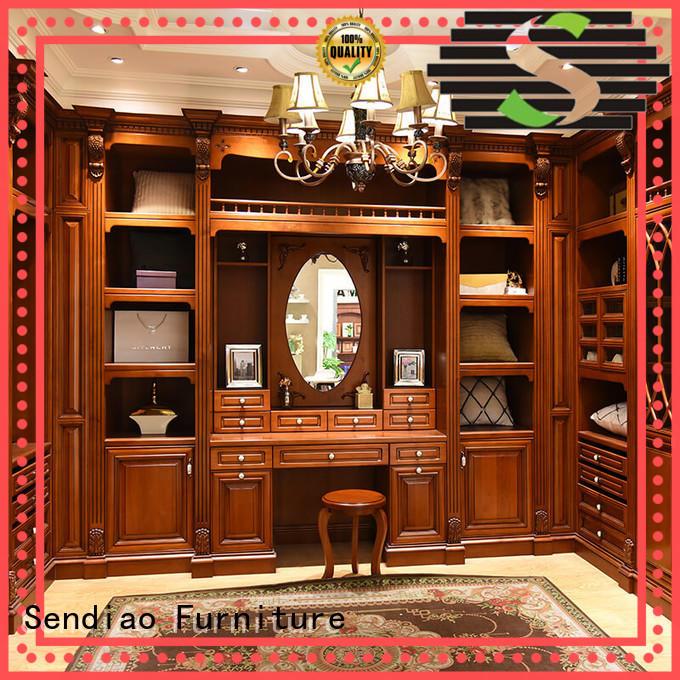 Sendiao Furniture New bespoke wardrobe factory study