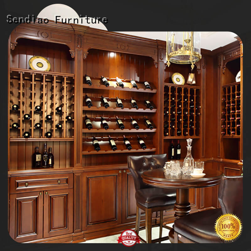 Sendiao Furniture Latest wine rack cabinet for business exhibition hall