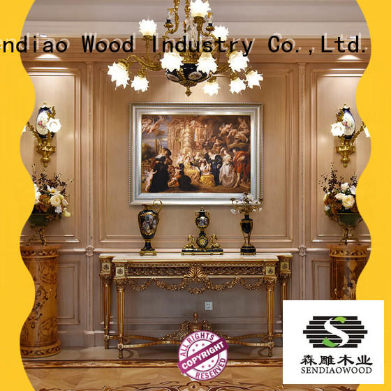 decorative molding panels furniture Three-star Hotel Sendiao Furniture