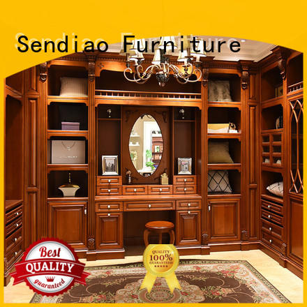 Sendiao Furniture Simplicity wood furniture wardrobe elegance A living room