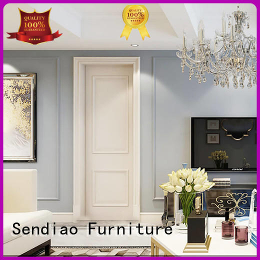 Sendiao Furniture New products solid wood interior doors wooden Four Star Hotel