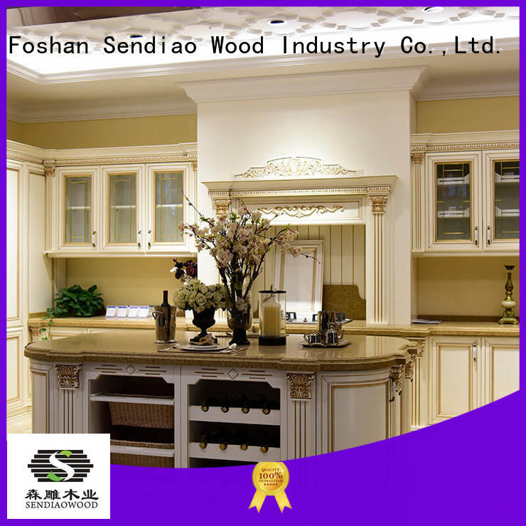 Sendiao Furniture Promotion custom made kitchen cabinets Promotion Fivestar Hotel