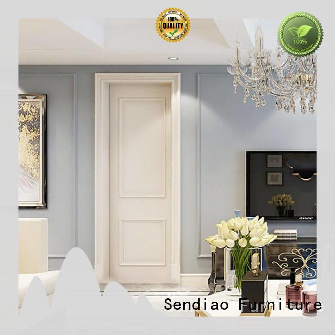 The latest generation interior wood doors design company a living room