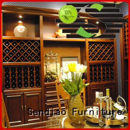 white wine cabinet solid wine quartz Sendiao Furniture Brand