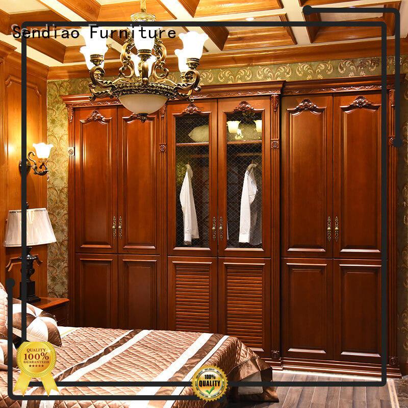 Sendiao Furniture elegance solid wood wardrobes supply bedroom