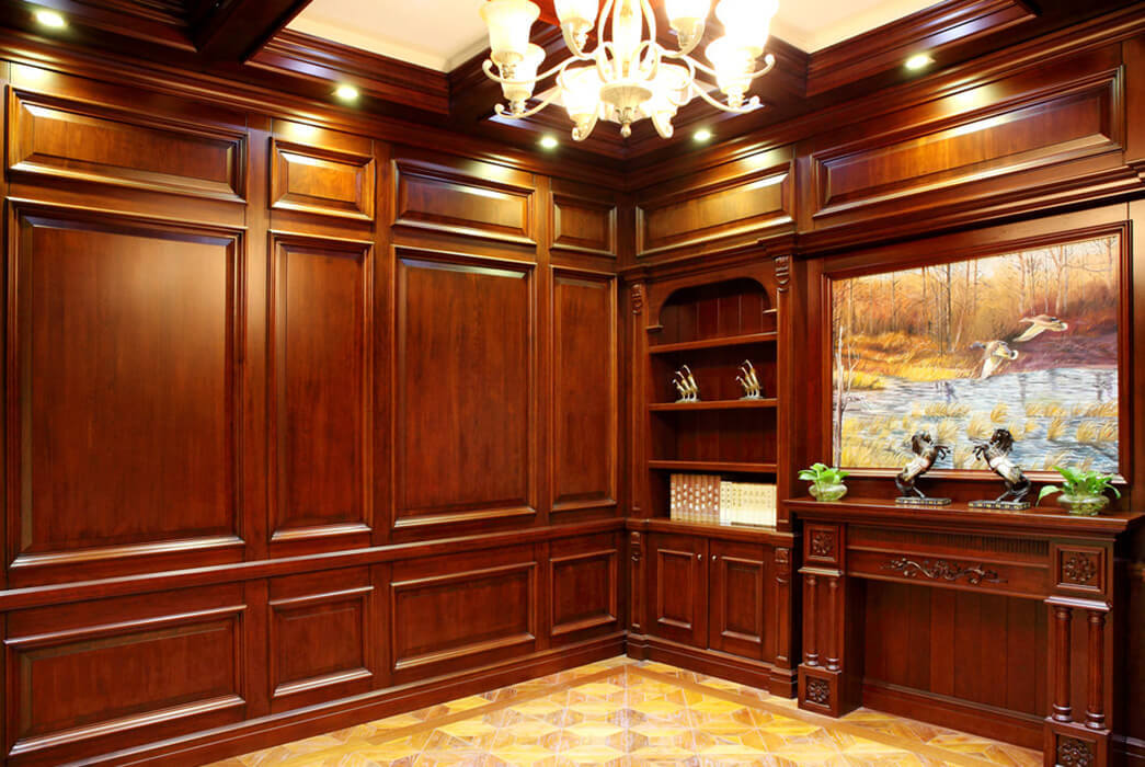 New products decorative wood molding for walls fixing manufacturers fivestar hotel-3