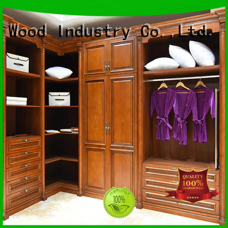 wood armoire wardrobe joinery Four Star Hotel Sendiao Furniture