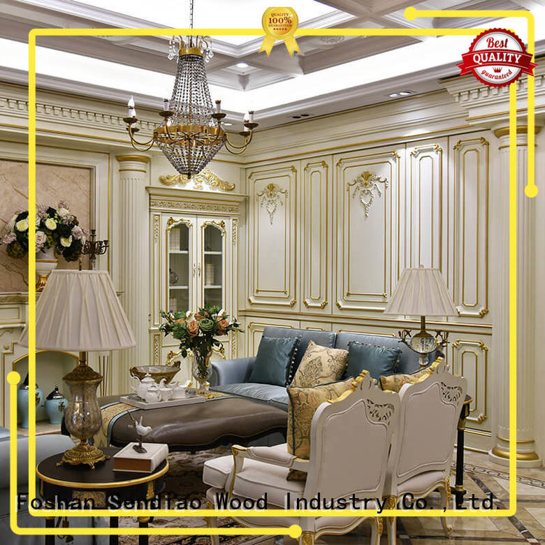 Sendiao Furniture New products decorative wall panelling interior walls solid A living room