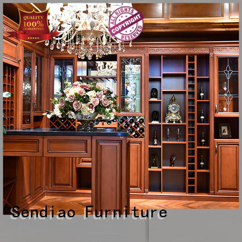 Sendiao Furniture sdwi03 solid wood wine cabinet Simplicity Fivestar Hotel