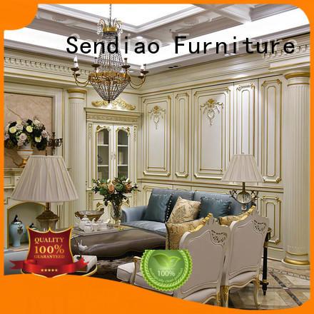 Sendiao Furniture The latest generation decorative molding panels New products Study
