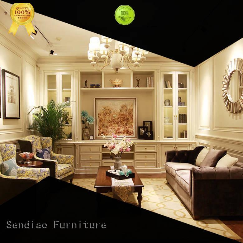 Sendiao Furniture simple decorative wooden cabinet Supply three-star hotel
