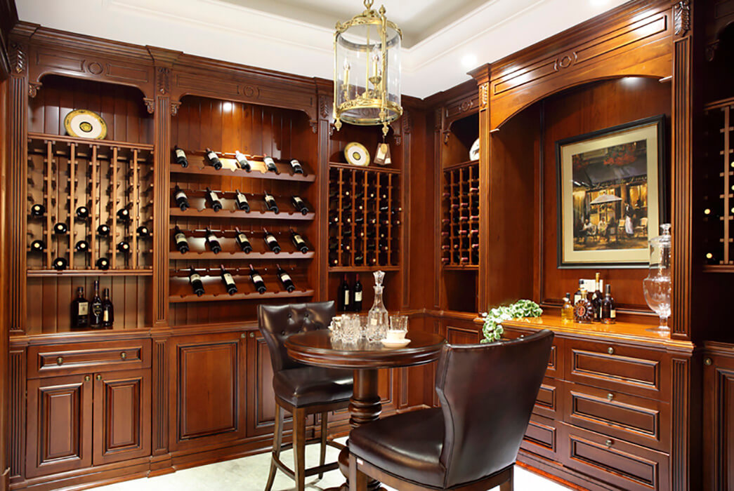 Sendiao Furniture Best wood wine cabinet Suppliers study-2