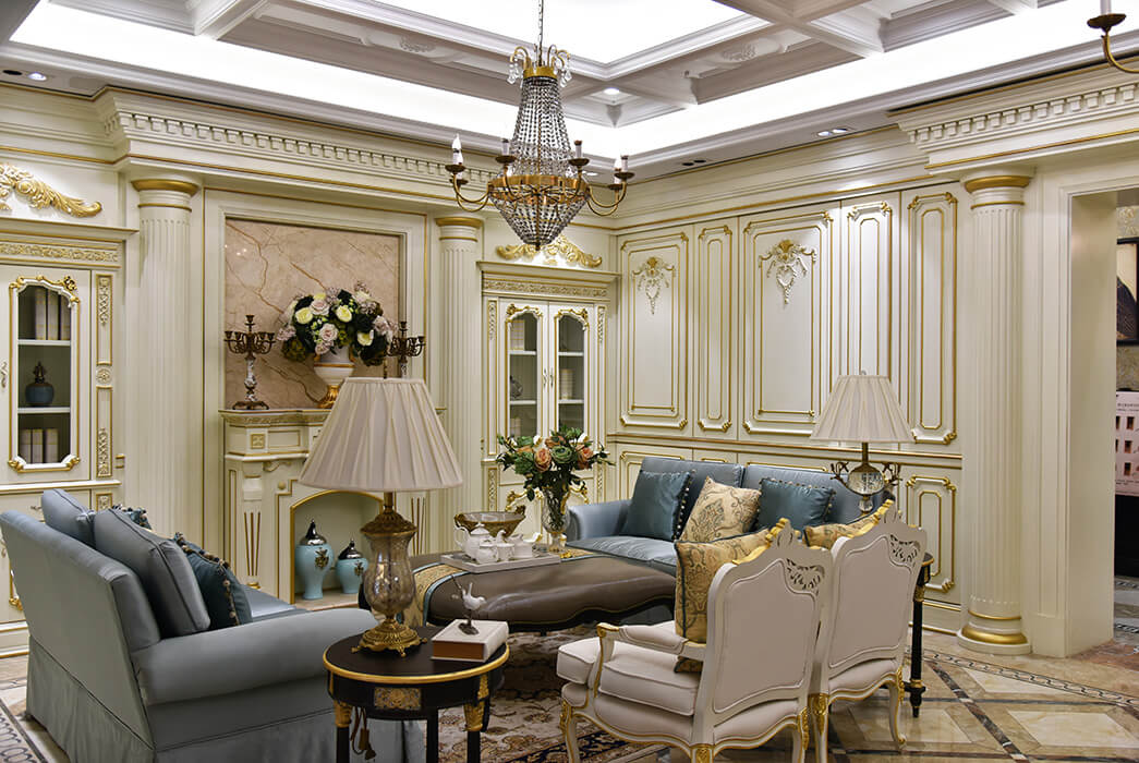 Wholesale wall panelling club for business four-star hotel-2