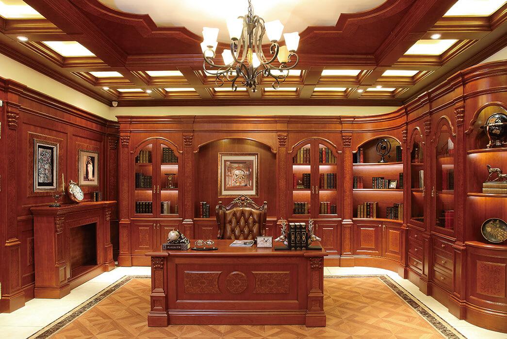 Wholesale bespoke bookshelves advanced company four-star hotel-2
