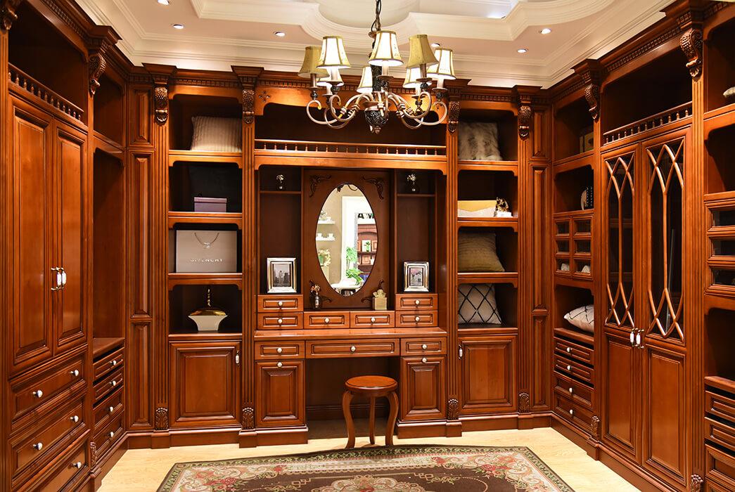 Sendiao Furniture wood wooden wardrobe Suppliers three-star hotel-2