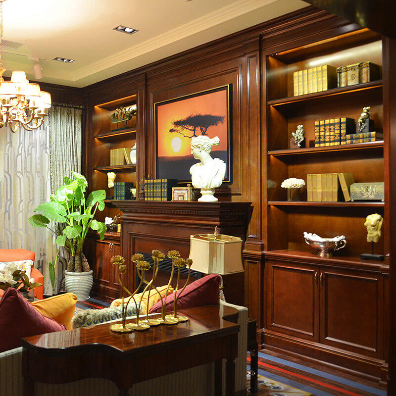 The latest generation decorative cabinets for living room New products Fivestar Hotel