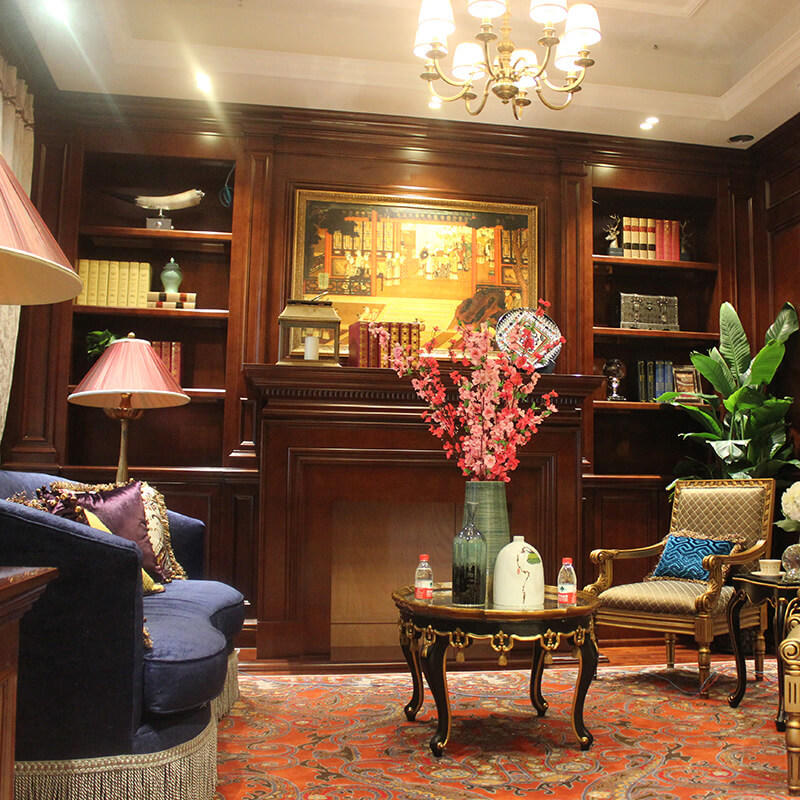 solid decorative cabinets for living room New products Exhibition hall Sendiao Furniture