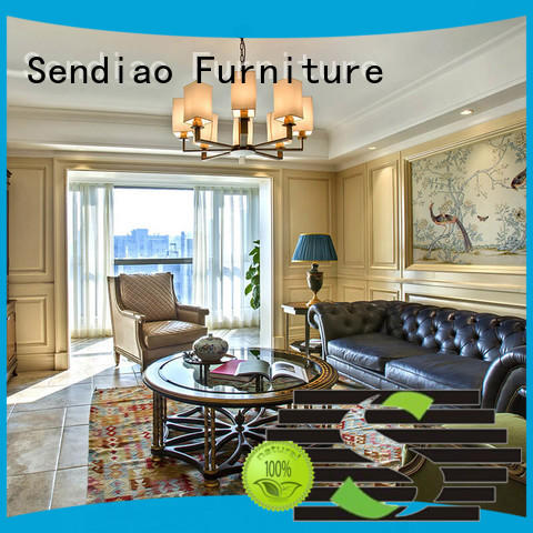 Sendiao Furniture Promotion wood panelling for walls interior The latest generation A living room