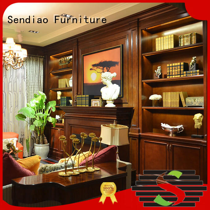 display decorative wooden cabinet The latest generation Study Sendiao Furniture