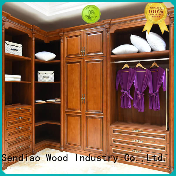 Promotion wooden clothes wardrobe joinery company four-star hotel