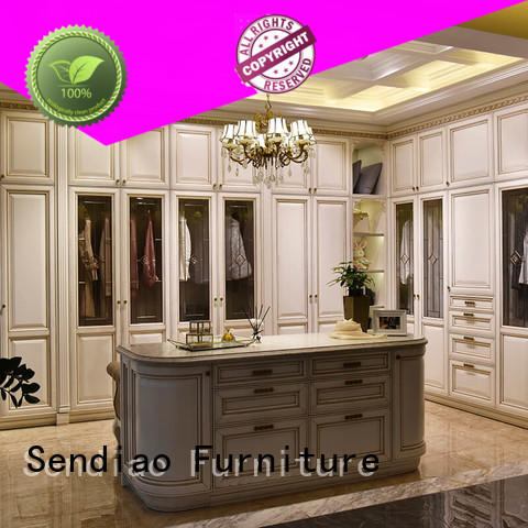 Sendiao Furniture luxury wooden wardrobe suppliers a living room