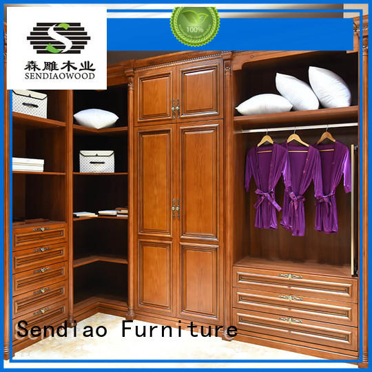 American style cheap wooden wardrobe classical Exhibition hall