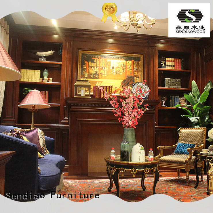 chinese decorative wall cabinet low price Exhibition hall Sendiao Furniture