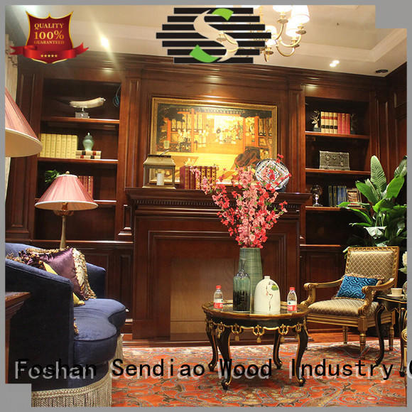 Sendiao Furniture American style decorative wooden cabinet suppliers three-star hotel