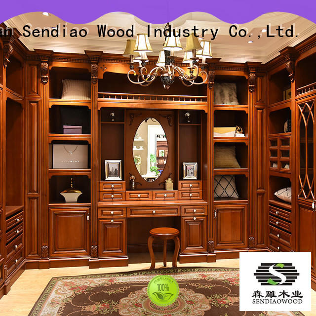 sdw01 solid wood wardrobes low price A living room