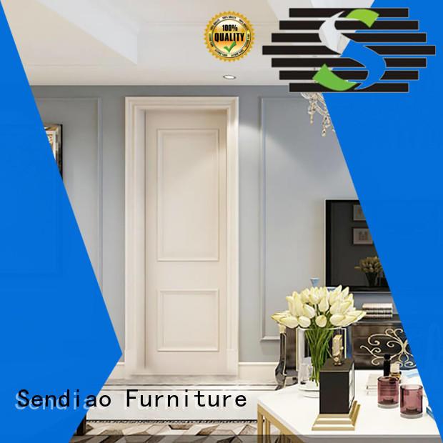 Sendiao Furniture door interior wood doors factory bedroom
