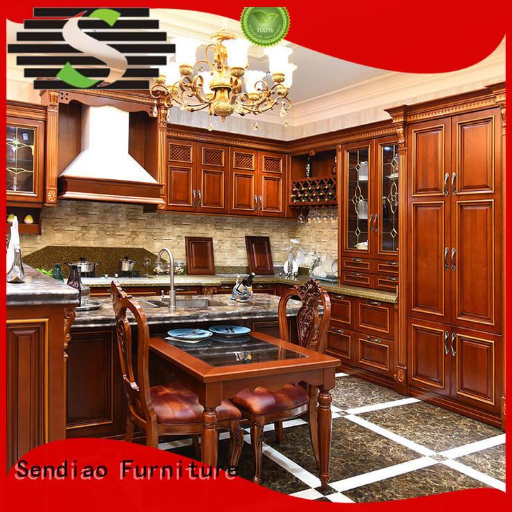 solid wood cupboard sdk07 Three-star Hotel Sendiao Furniture