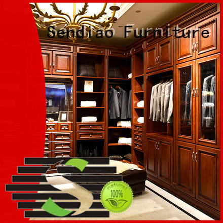 New products wood wardrobe cabinet sdw01 New products Exhibition hall