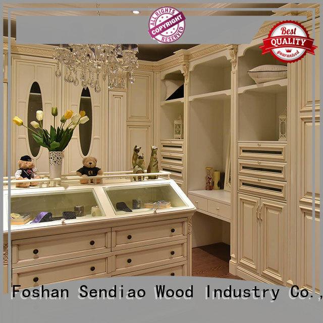 sdw03 wood armoire wardrobe The latest generation Four Star Hotel