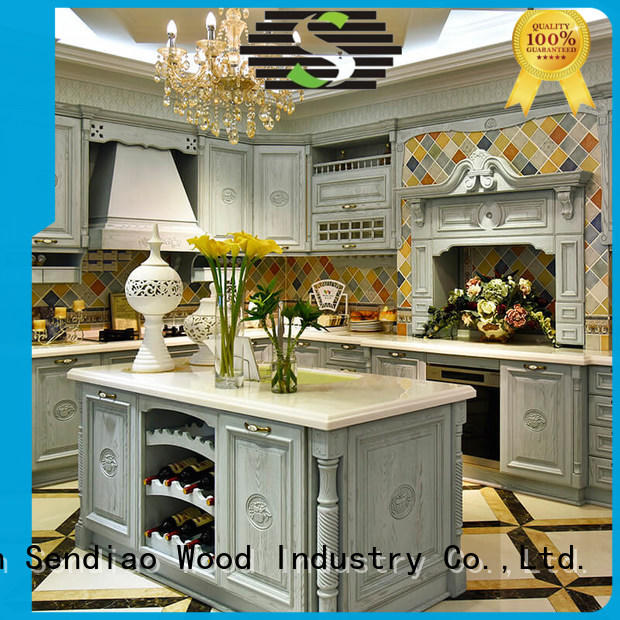 Simplicity solid wood kitchen cabinets sdk09 manufacturers chateau