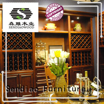 classical wine cabinet furniture New products Four Star Hotel Sendiao Furniture