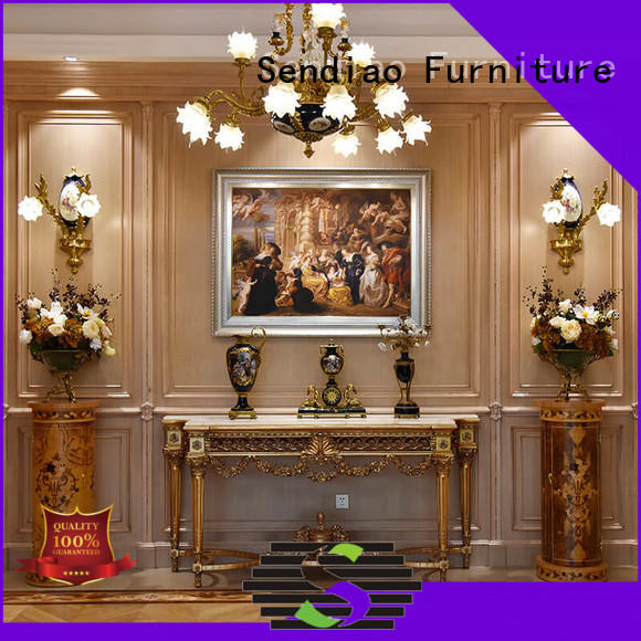 Sendiao Furniture solid wood panelling for walls interior Supply a living room