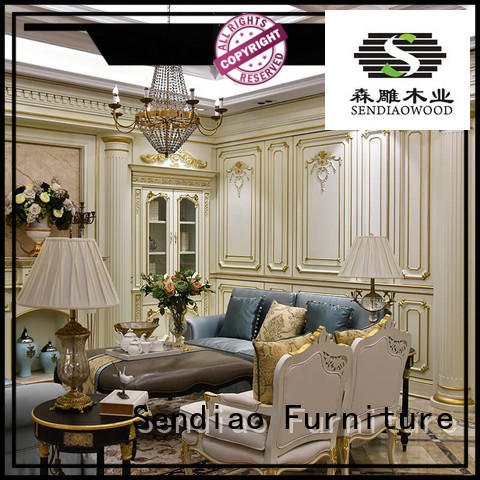 American style decorative wood panels for walls New products Fivestar Hotel Sendiao Furniture