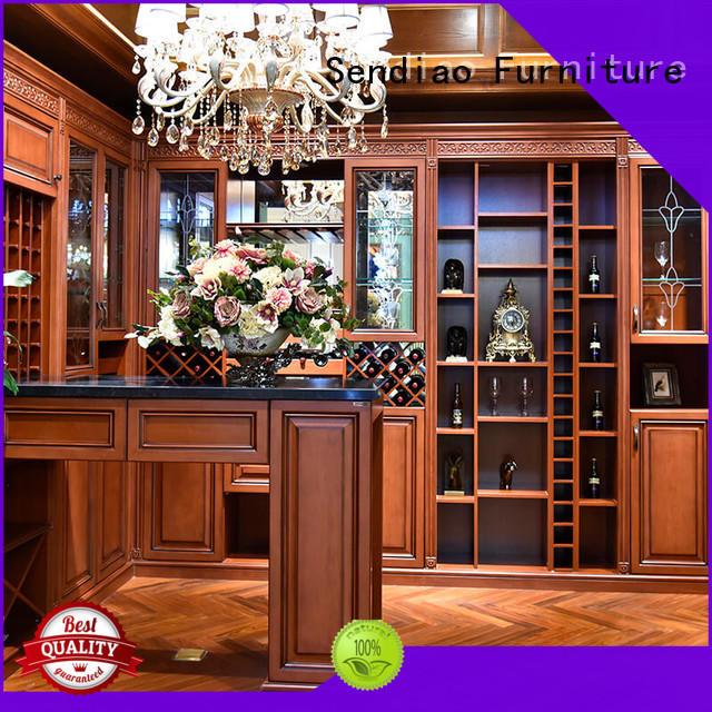 antique bespoke wine cabinet Simplicity A living room Sendiao Furniture