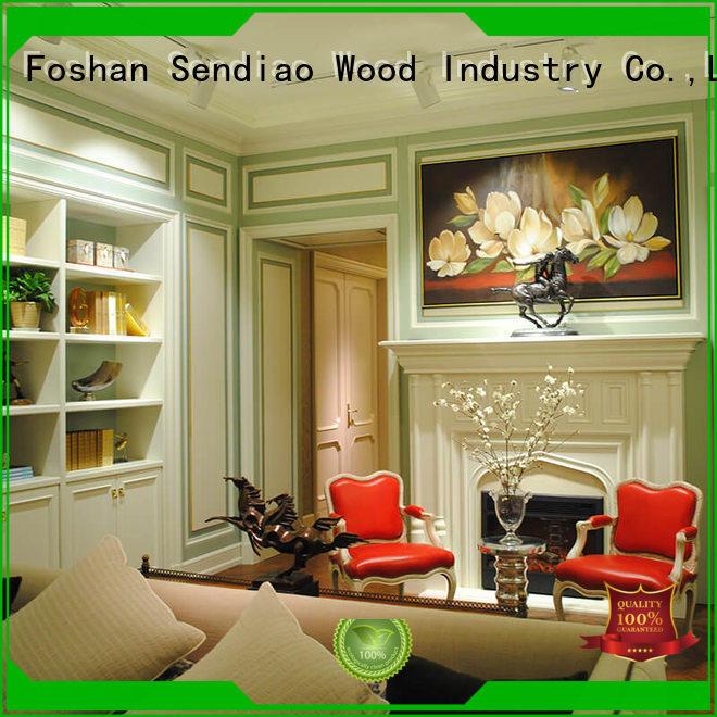 Sendiao Furniture decorative decorative molding panels classical Chateau