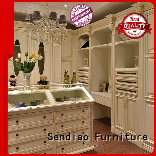 syle solid wood wardrobes low price Four Star Hotel
