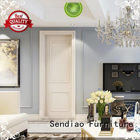 Sendiao Furniture The latest generation internal wooden doors elegance Bedroom