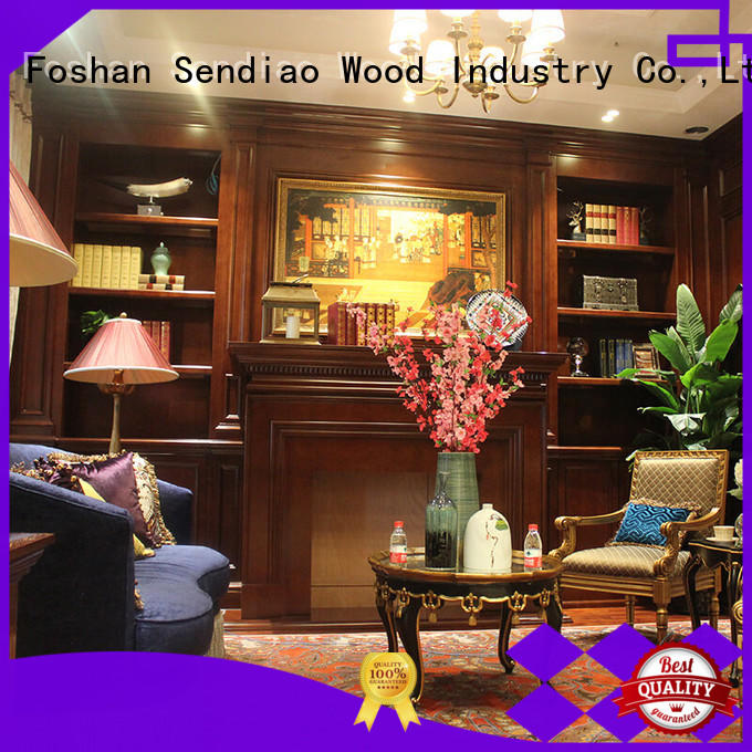 decorative wooden cabinet wood A living room Sendiao Furniture